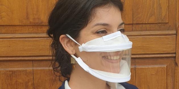 Des masques transparent pour tous, notamment sur les plateaux TV?