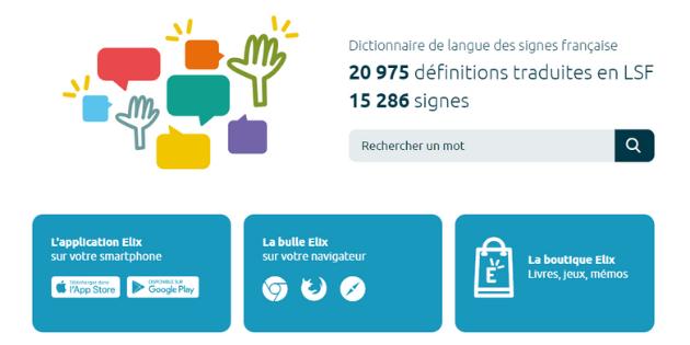 Le dictionnaire de Français en Langue des Signes Française lance une nouvelle application mobile