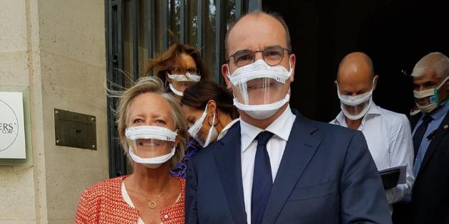 Bataille politique et technique autour des masques transparents