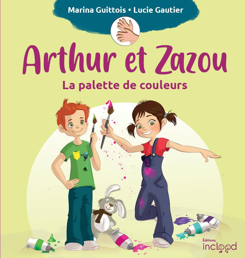 Une collection de livres pour enfants en Français facile à lire et en langue des signes