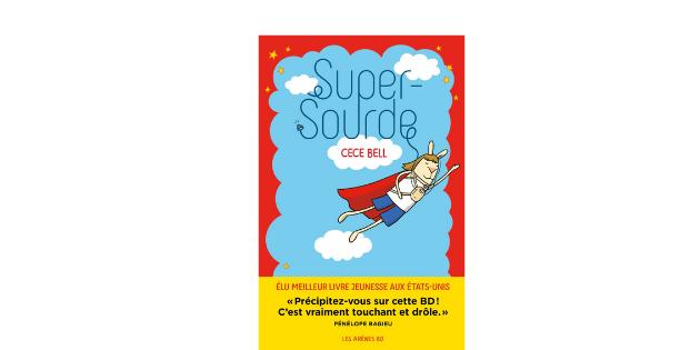 """""""Super-Sourde"""": super sourde mais dotée d'une super ouïe grâce à la technologie!"""