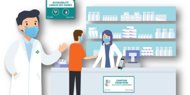 « Ma pharmacie en langue des signes », un nouveau dispositif pour faciliter la communication entre pharmaciens et malentendants