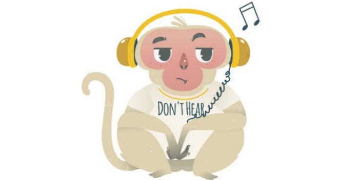 Entre l'homme et le singe, la perception de la hauteur des sons diverge