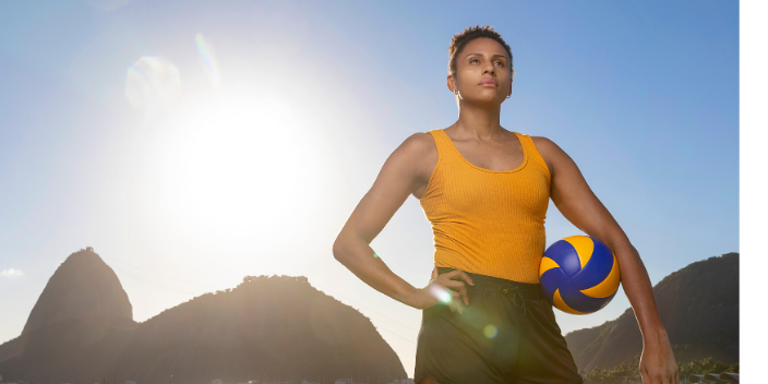 La joueuse de volleyball Natália Martins, nouvelle ambassadrice de Sonova