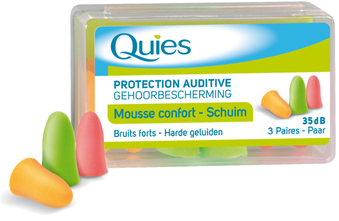 PROTECTION AUDITIVE EN MOUSSE